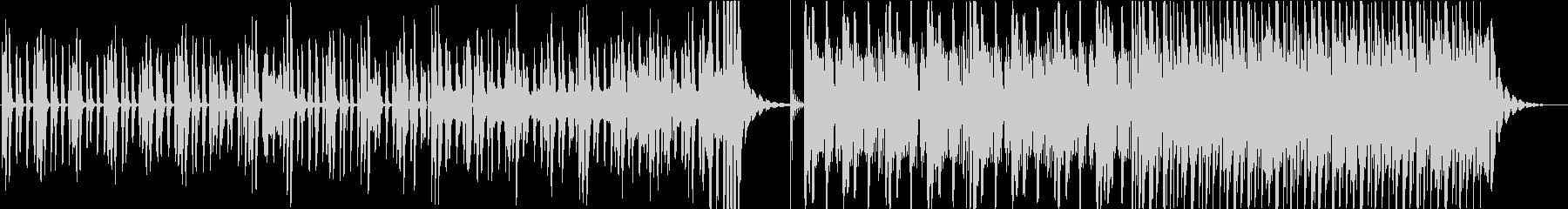 不思議で明るいピアノインストの未再生の波形