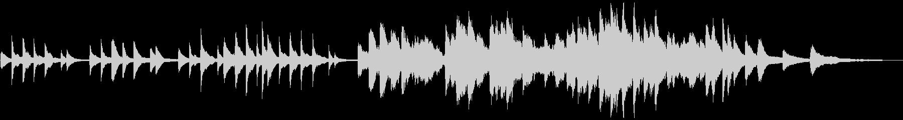 ピアノと星空の短いバラード(FL版)の未再生の波形
