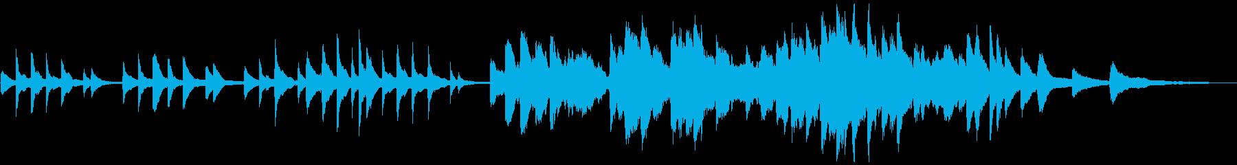 ピアノと星空の短いバラード(FL版)の再生済みの波形