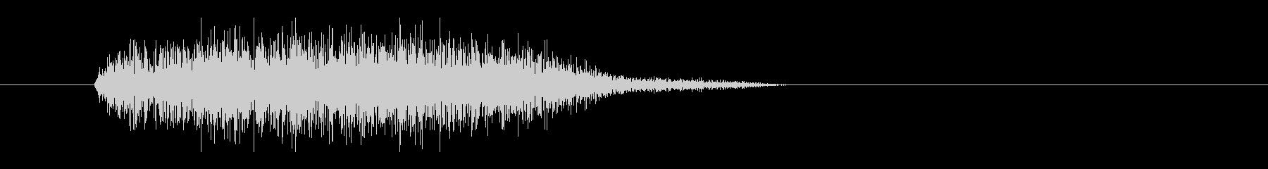 レーザー音-17-3の未再生の波形