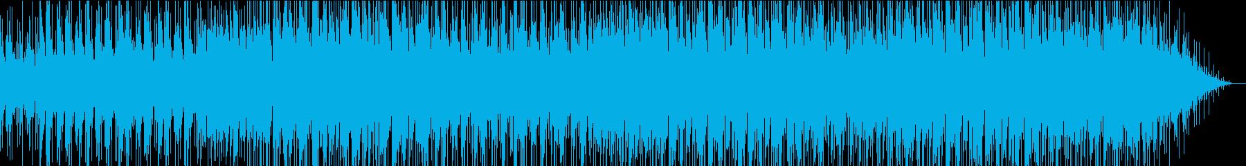 夕暮れ時のドライブで聞きたくなる曲の再生済みの波形