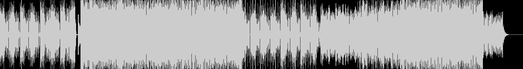 シンセリフとグルーヴ感が心地よいトランスの未再生の波形