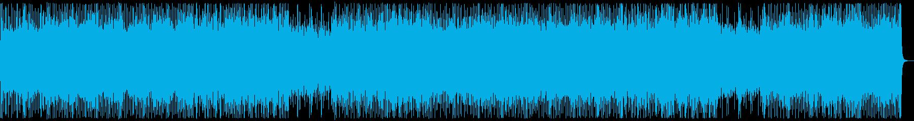 和楽器・和風・サムライロック:フルx2の再生済みの波形