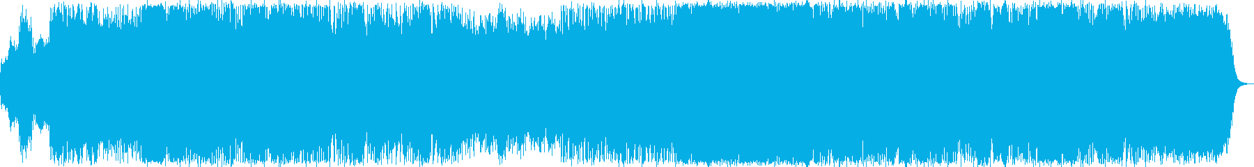 力強いイメージのニューエイジ音楽の再生済みの波形