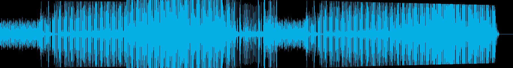 控えめでクールなテクノサウンドの再生済みの波形
