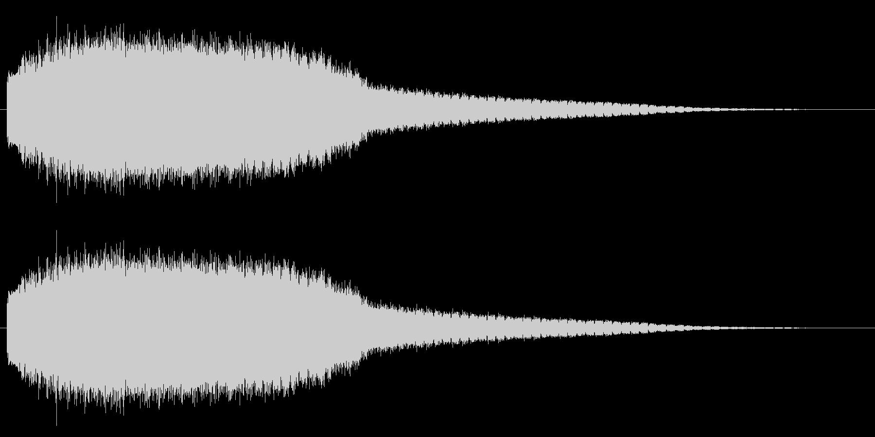 機械 アトナルリズムライザーショート03の未再生の波形