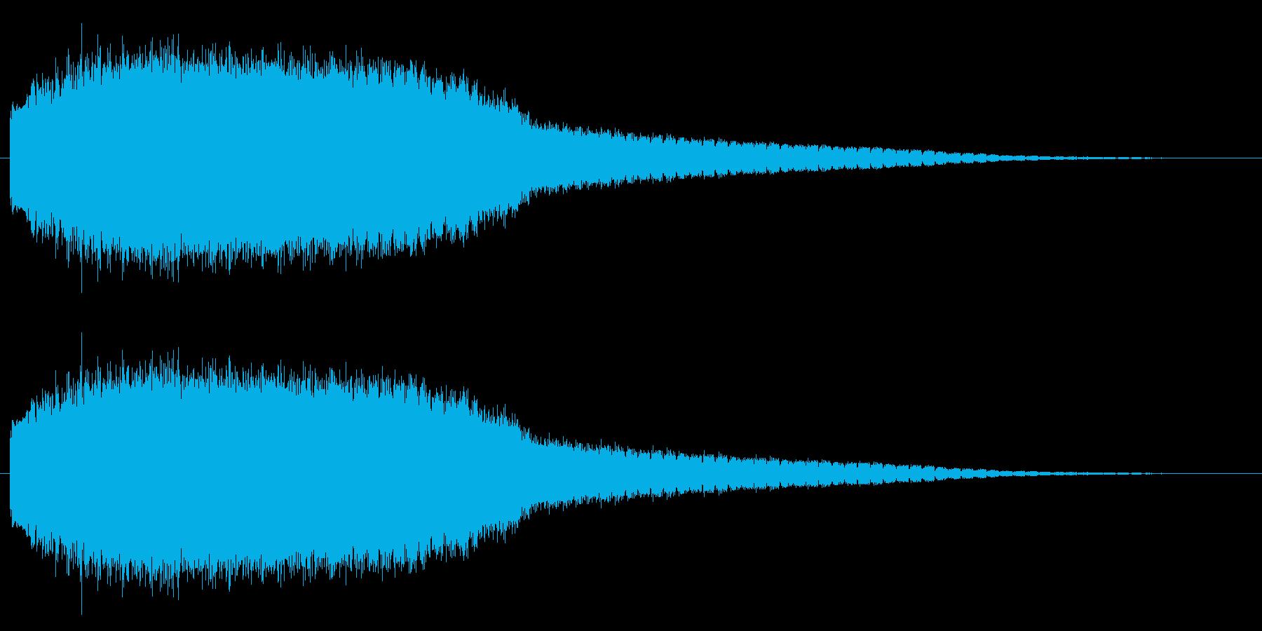 機械 アトナルリズムライザーショート03の再生済みの波形