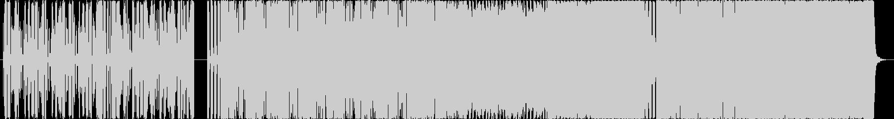 Bassが特徴的なHIPHOPの未再生の波形