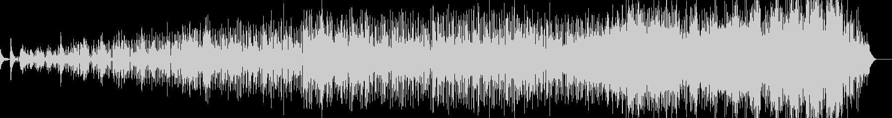 ゆったりラウンジ系音楽ー待合室の未再生の波形