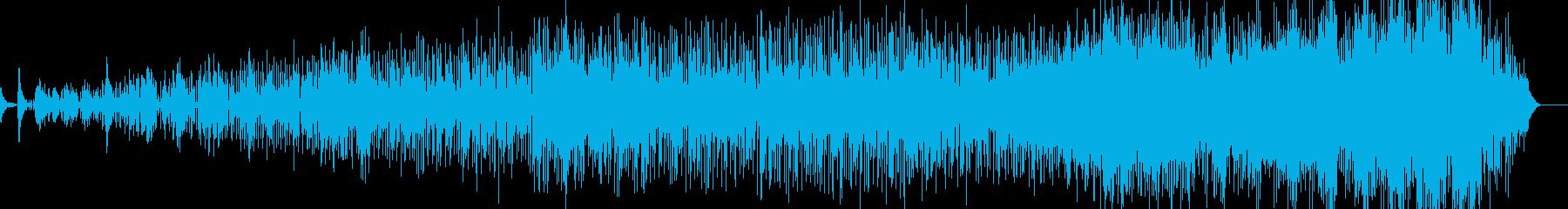 ゆったりラウンジ系音楽ー待合室の再生済みの波形