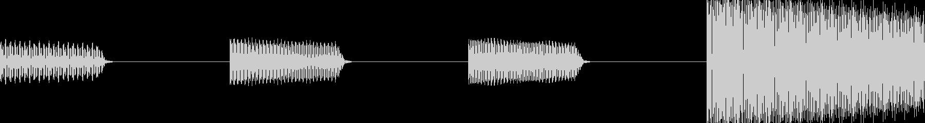 スマホでもOK!ボタン・カーソル・操作音の未再生の波形