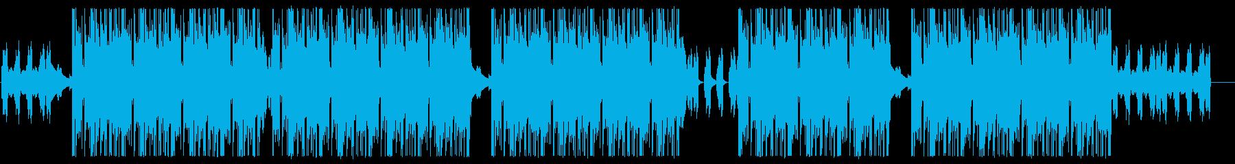 ダークに攻めるヒップホップ・トラップ♪の再生済みの波形