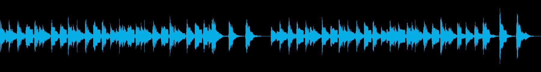 3分クッキングの曲 (アコギ)の再生済みの波形