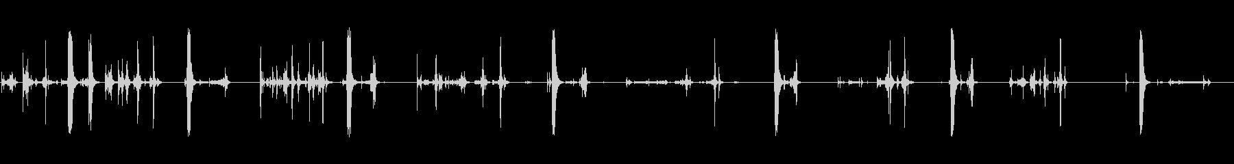 1980年代のIBM:フロッピーデ...の未再生の波形