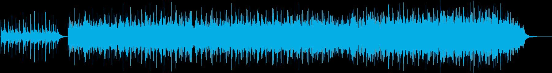 心の中で思い浮かべるピアノメロディーの再生済みの波形