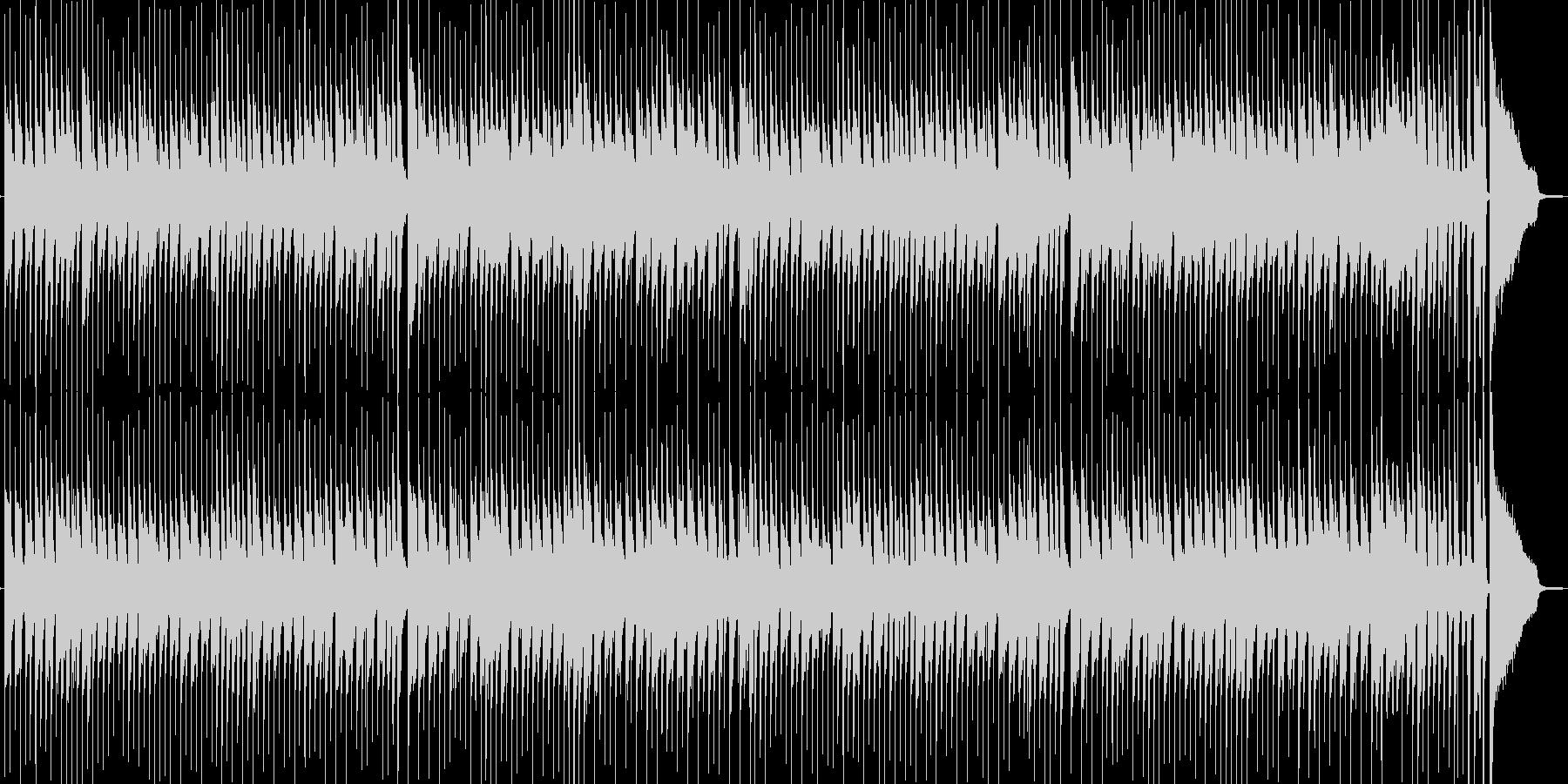 クリスマスの定番!単純明快なジングルベルの未再生の波形