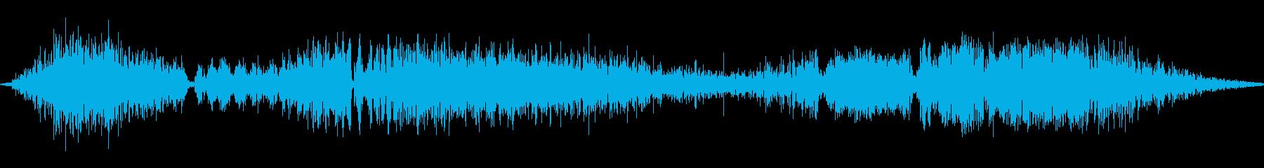 モンスターキャットグロウルの再生済みの波形