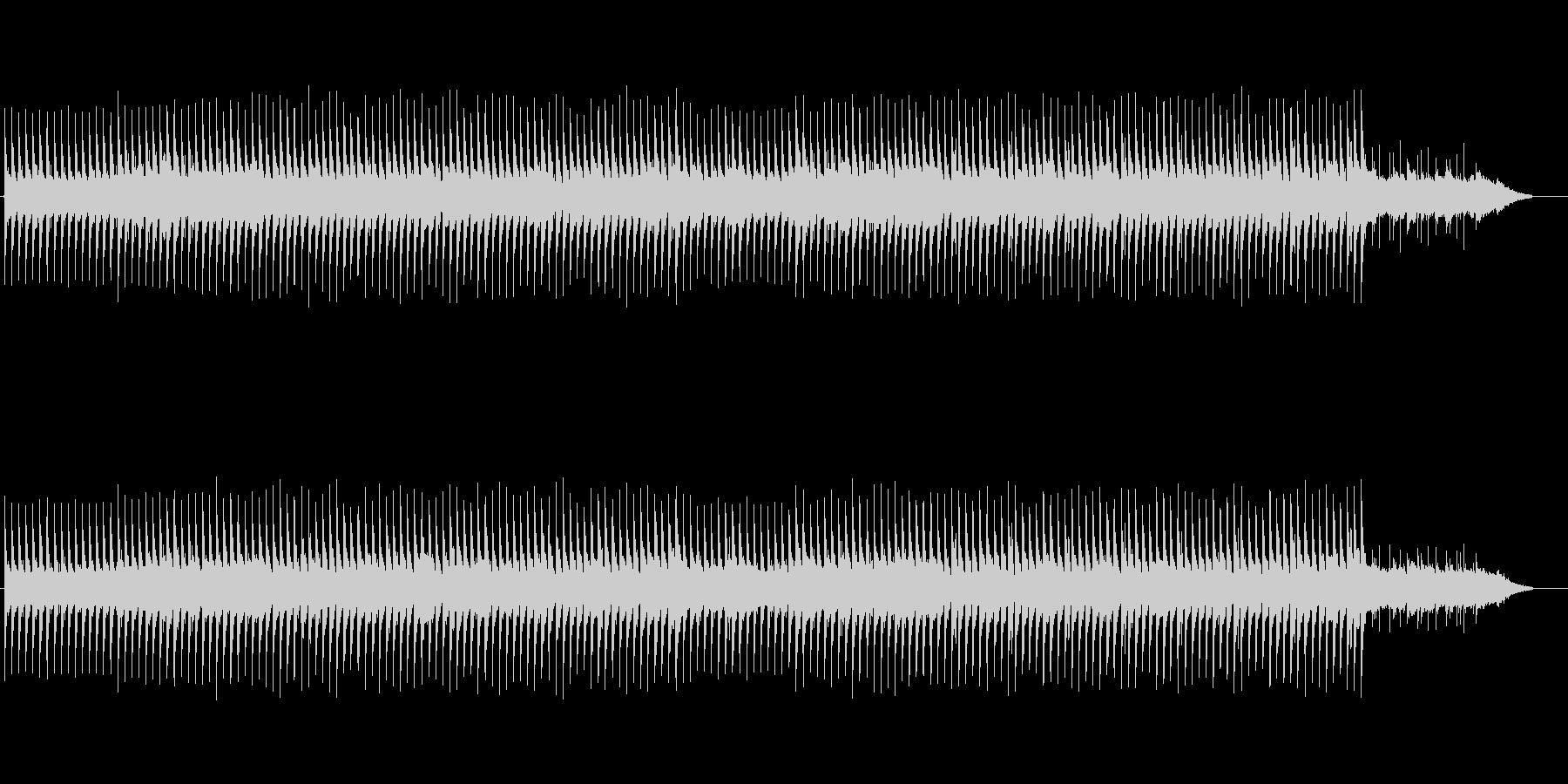 生演奏のアコースティックギターBGMの未再生の波形