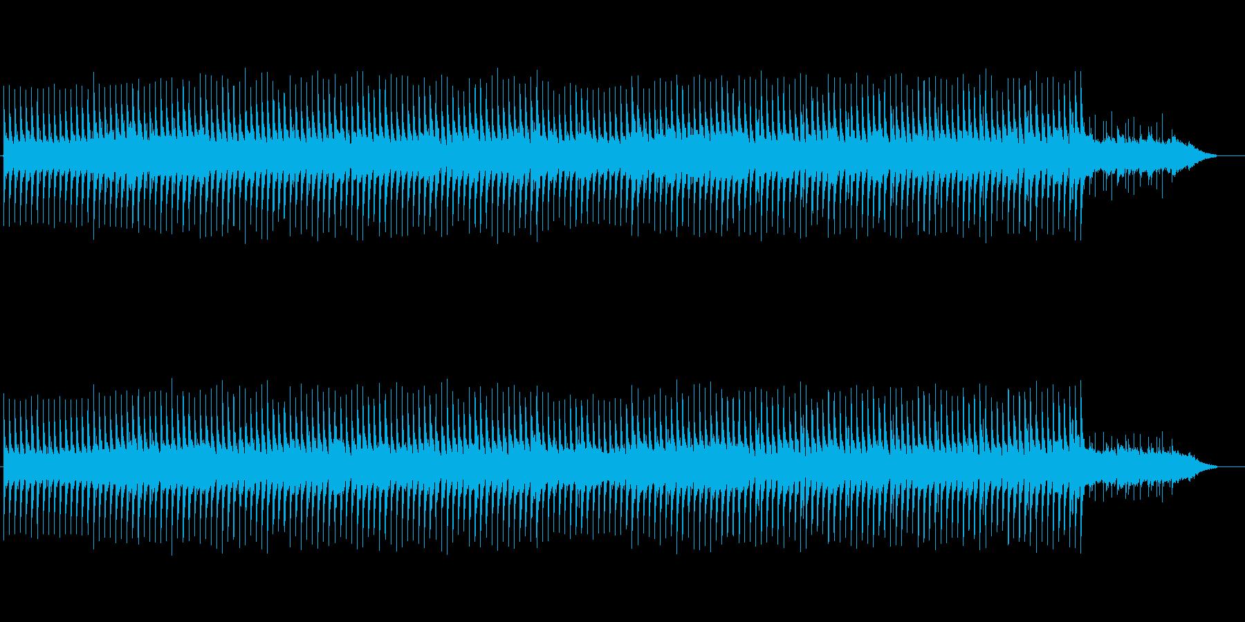 生演奏のアコースティックギターBGMの再生済みの波形