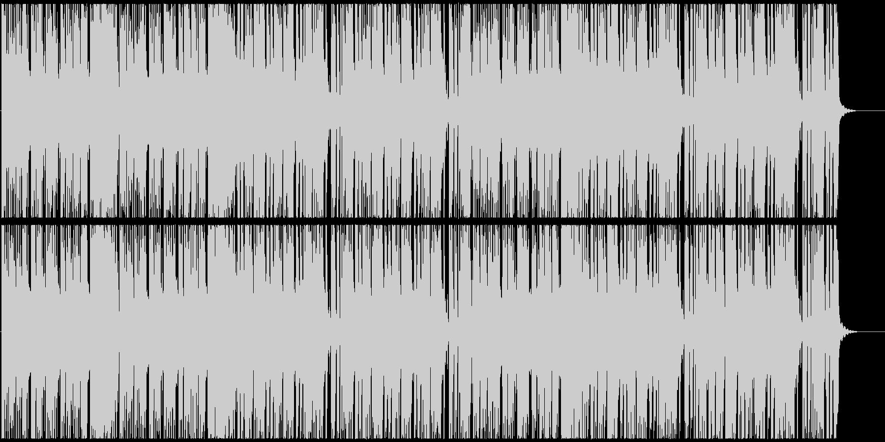 速めブラームス名曲、コミカル映像、ゲームの未再生の波形