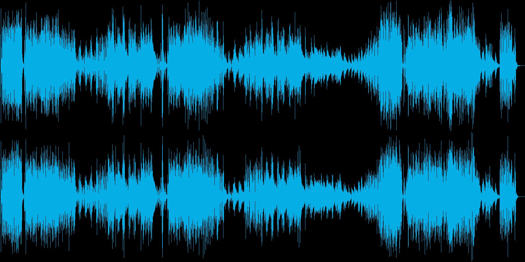 CM】オシャレ クール テーマ曲風ジャズの再生済みの波形