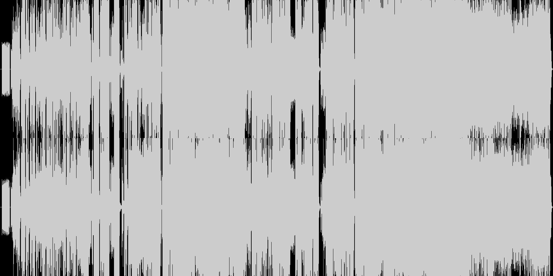 1945年舞台モールス信号ピコピコロックの未再生の波形