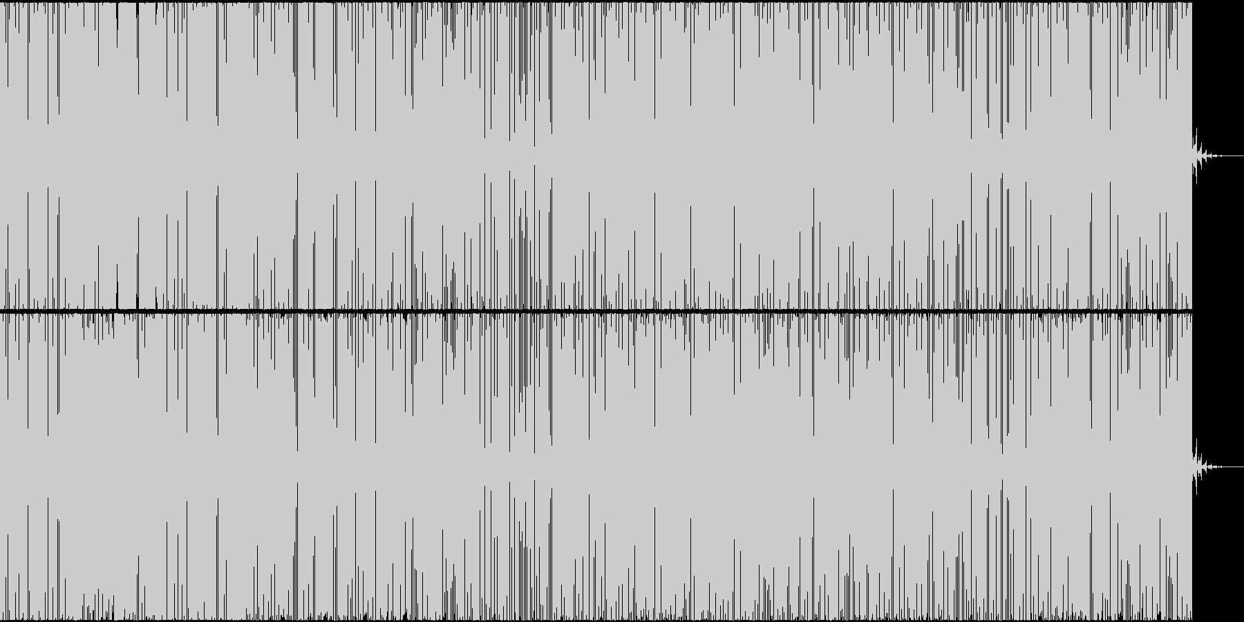 アメリカ西海岸のイメージの未再生の波形