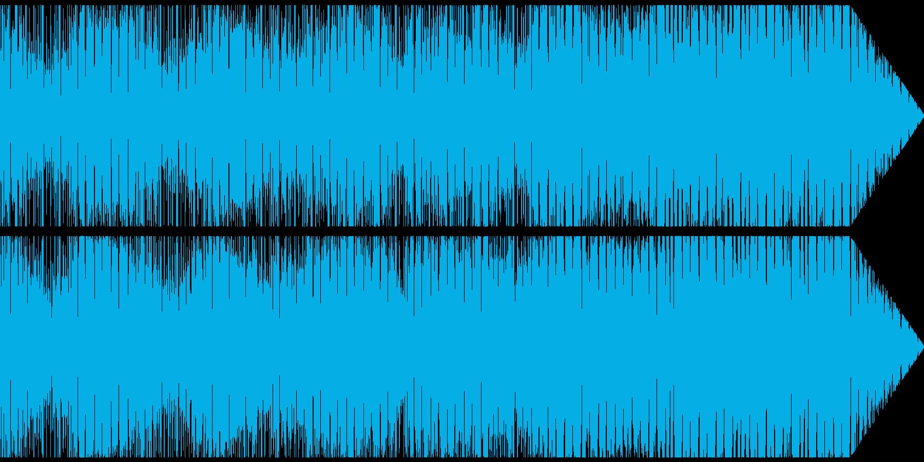 やや暗い音とわずかなダブステップの...の再生済みの波形