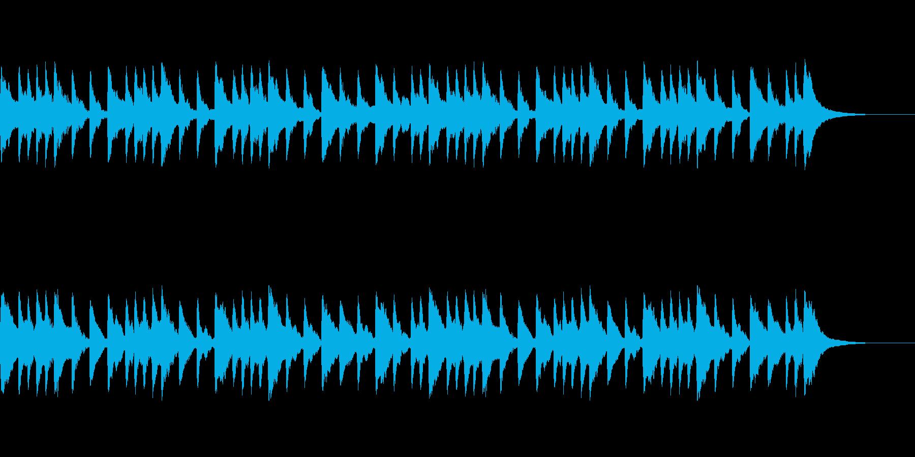 眠くなる 癒される 優しい オルゴールの再生済みの波形