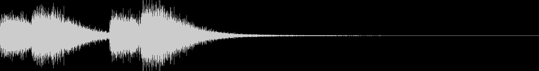 ガシャガシャ(暴れる・ノイズ有り)2の未再生の波形