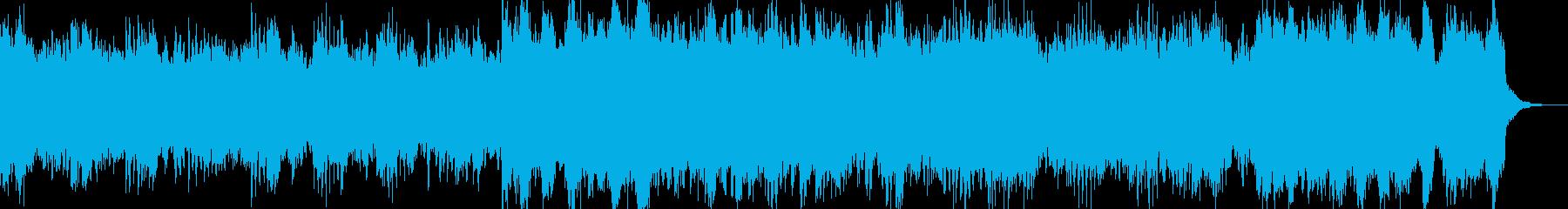 【ホラー・SF系】サスペンス等のBGMの再生済みの波形