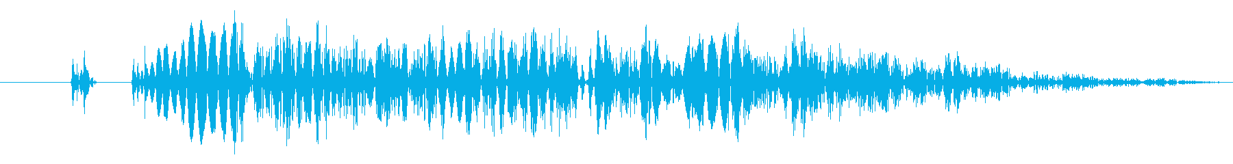 【打撃音07】パンチやキックに最適です!の再生済みの波形