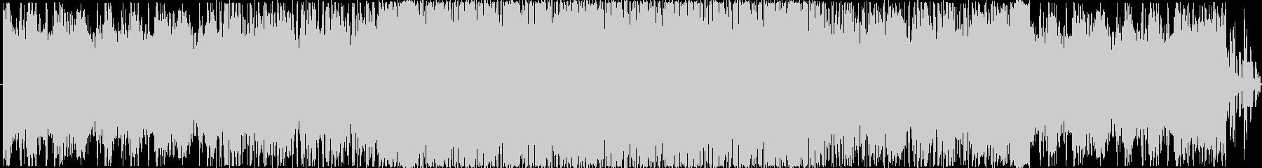 さわやかな雰囲気のEDMの未再生の波形