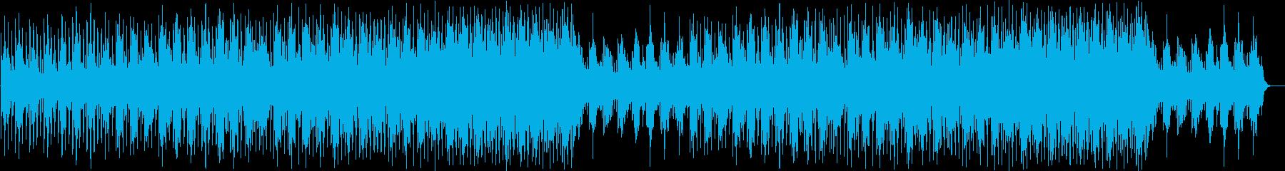 キラキラと光を感じる最先端ピアノポップスの再生済みの波形