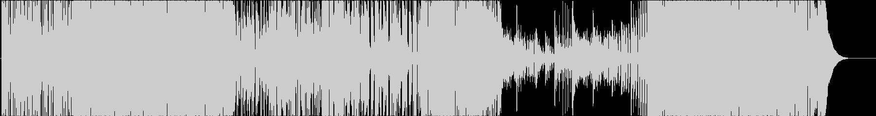 ドラムソロから始まるJazzRockの未再生の波形