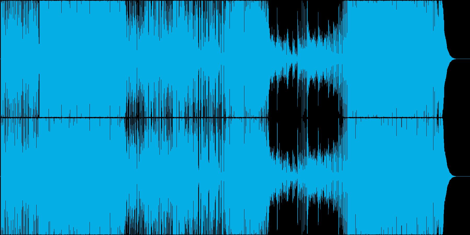 ドラムソロから始まるJazzRockの再生済みの波形