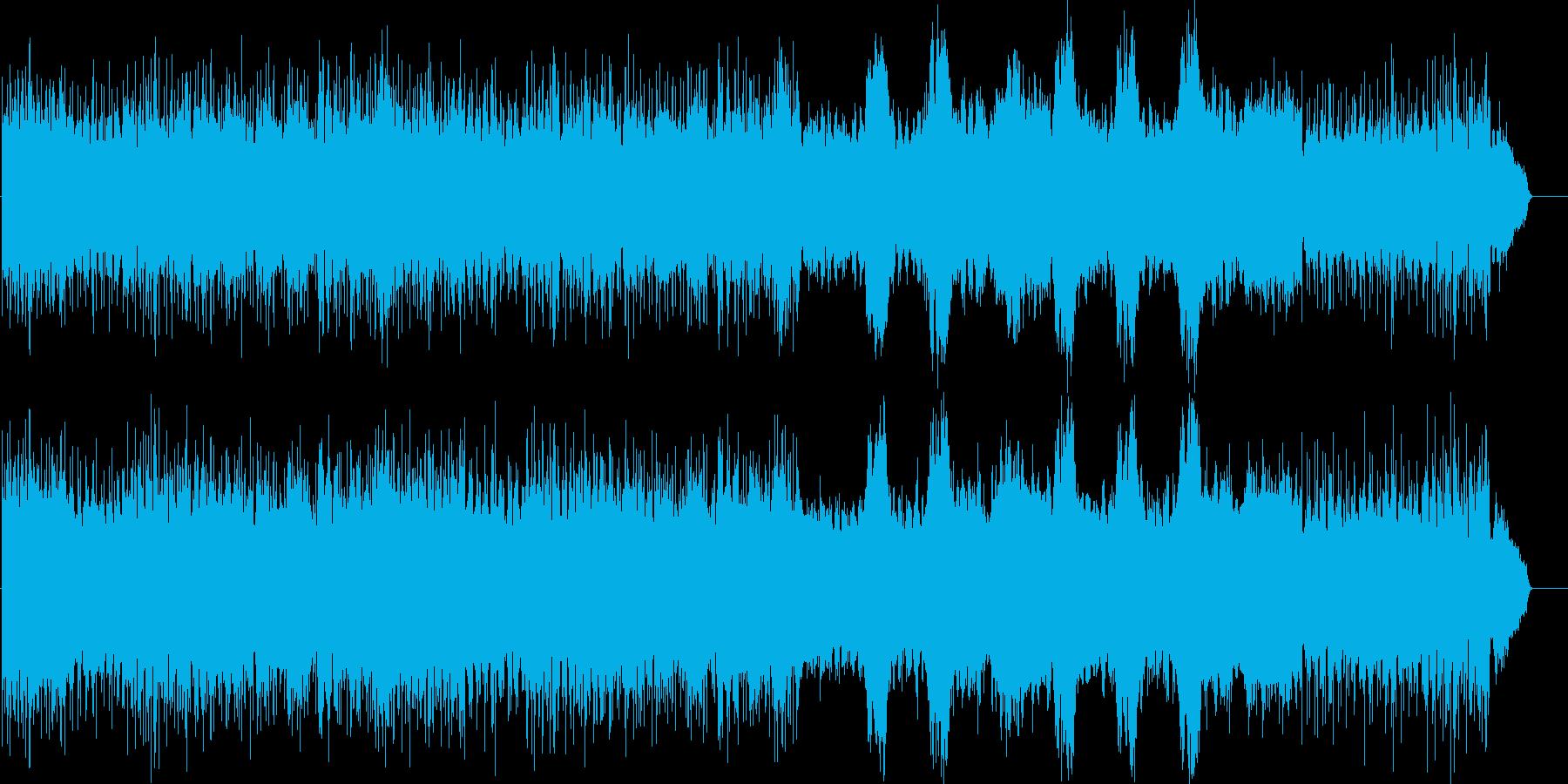美しいボーカルが奏でるヒーリング曲の再生済みの波形