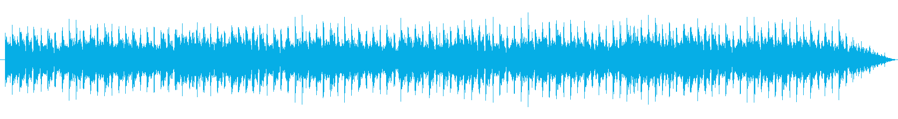 電子楽器。滑らかでセクシーなグルー...の再生済みの波形