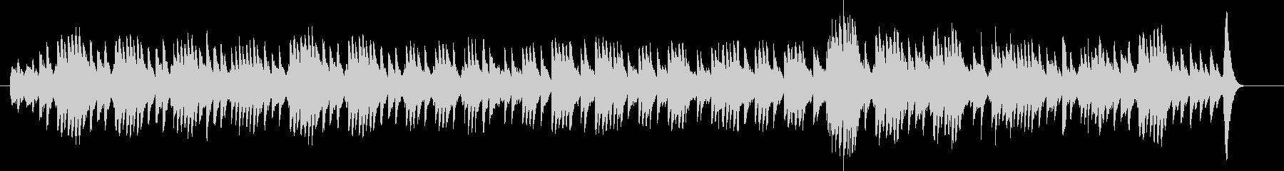 ドリー組曲より子守唄(オルゴール)の未再生の波形