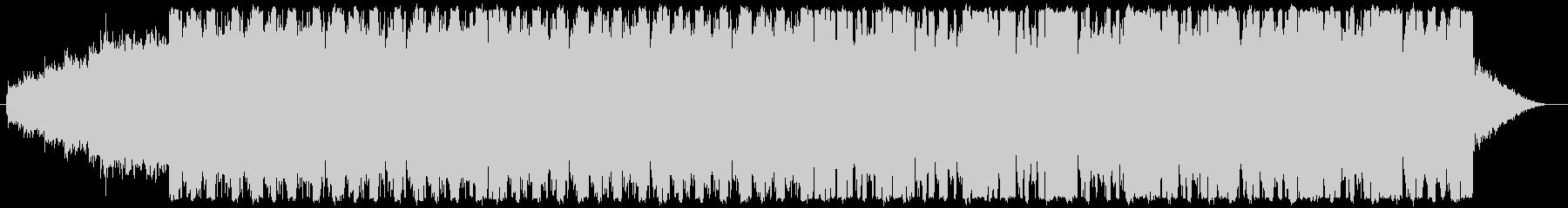 ローファイヒップホップビートの未再生の波形