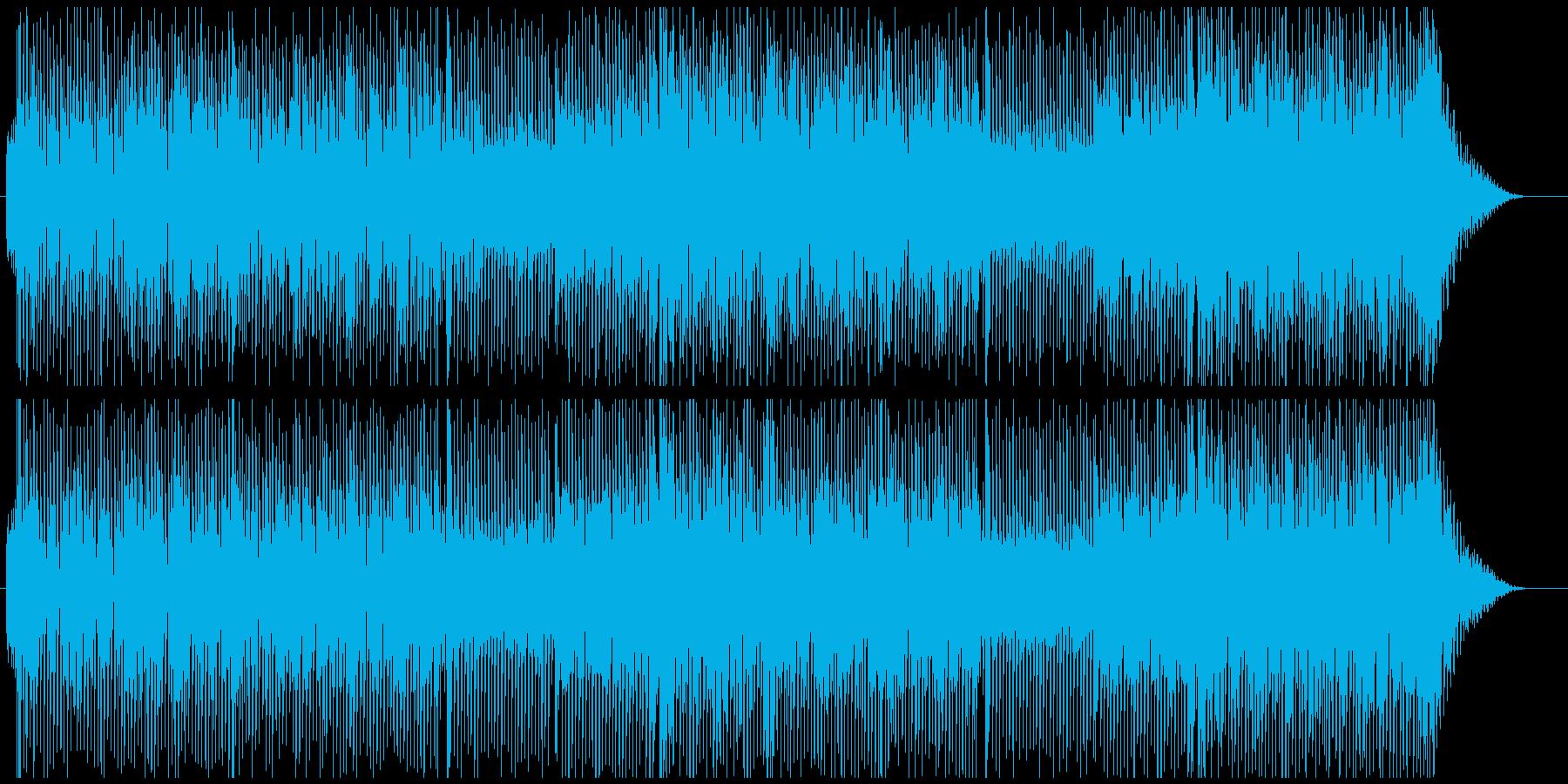 80sポップエレクトロの再生済みの波形