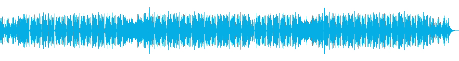 スタイリッシュ・都会・EDMファンクの再生済みの波形