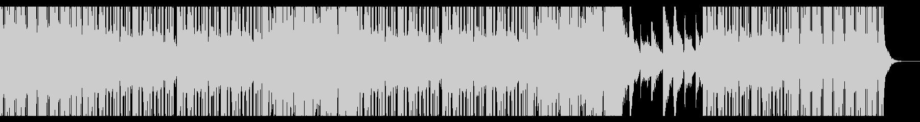 筋トレHipHopの未再生の波形