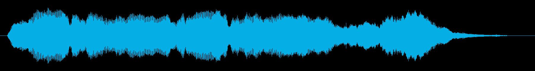 ファーン、キンコン(宇宙、幻想的、風)の再生済みの波形
