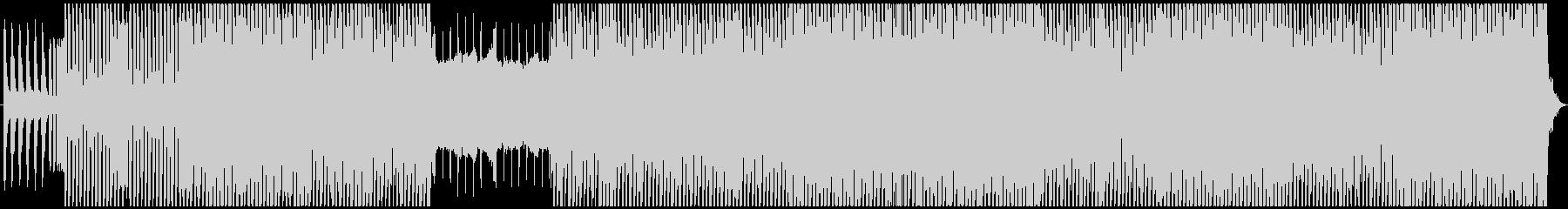 躍動感のあるシンセユーロビートBGMの未再生の波形