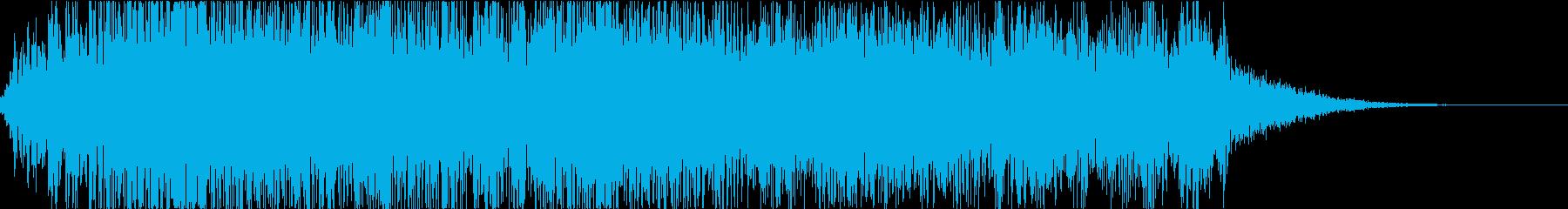 怪物・モンスターの鳴き声・ゲーム・映画eの再生済みの波形