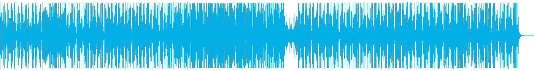 A slow xylophone synthesizer song's reproduced waveform
