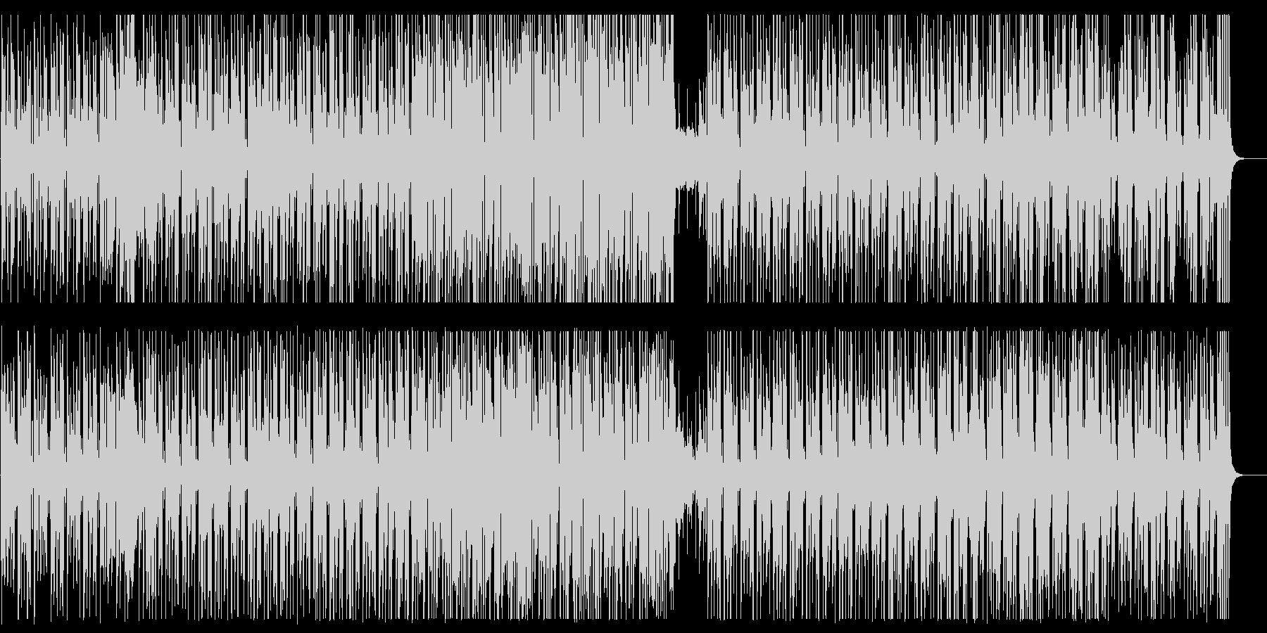 ゆっくりした木琴系のシンセサイザーの曲の未再生の波形