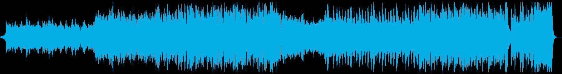 希望に満ち前向きで壮大なマーチ:ドラム抜の再生済みの波形