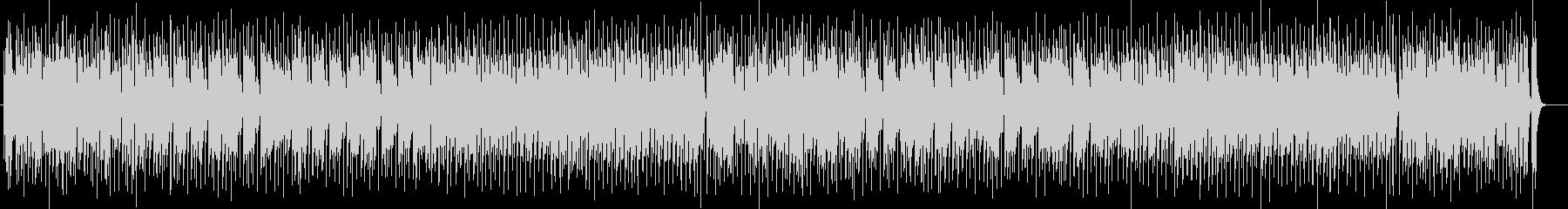 爽快感のあるドラムシンセサイザー系曲の未再生の波形